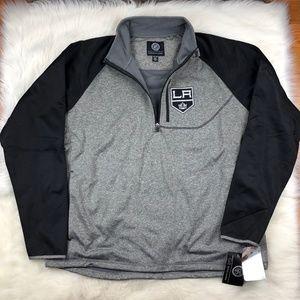 Los Angeles Kings Men's Softshell Track Jacket NHL